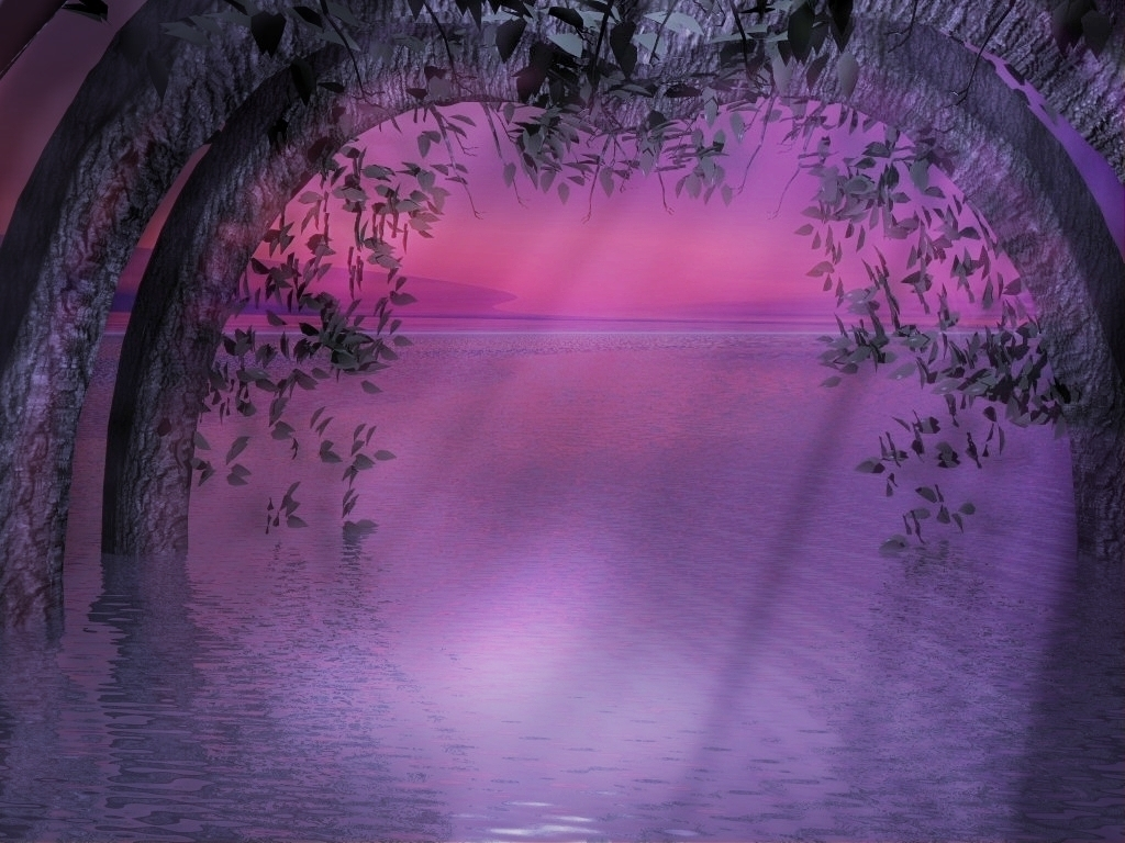 fairies-world-purple-evening